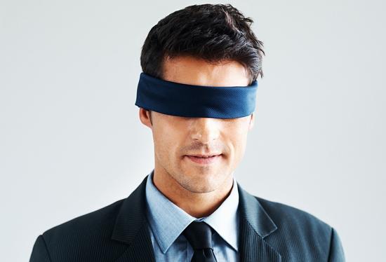 Trust   Blindfolded Man   Mark Eckel