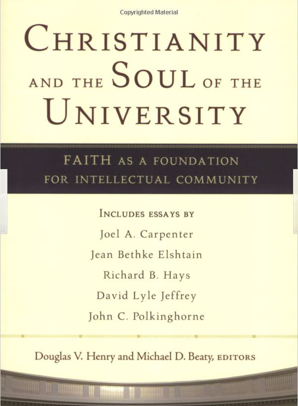 Christianity Soul of the University