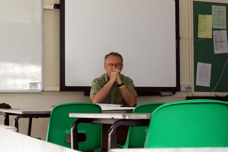 Teacher in Prayer