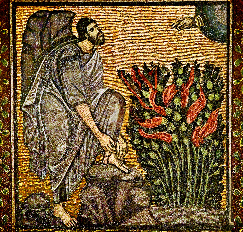 moses_burning_bush_bysantine_mosaic