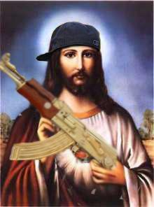 Jesus AK 47