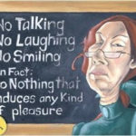 mean teacher black board