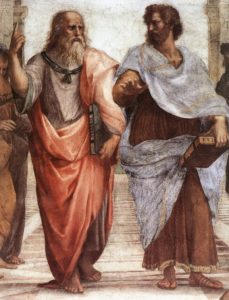 Plato_Aristotle Raffaello Sanzio