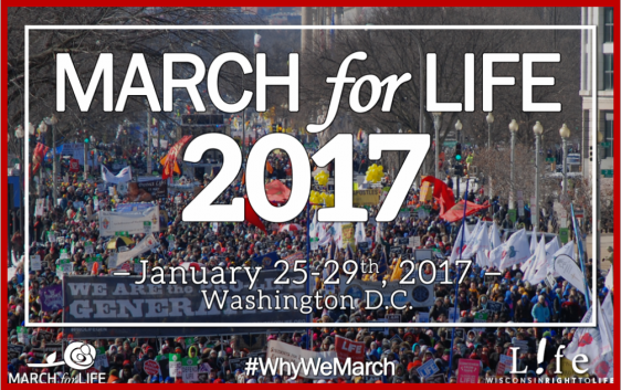 When is the march for life 2017